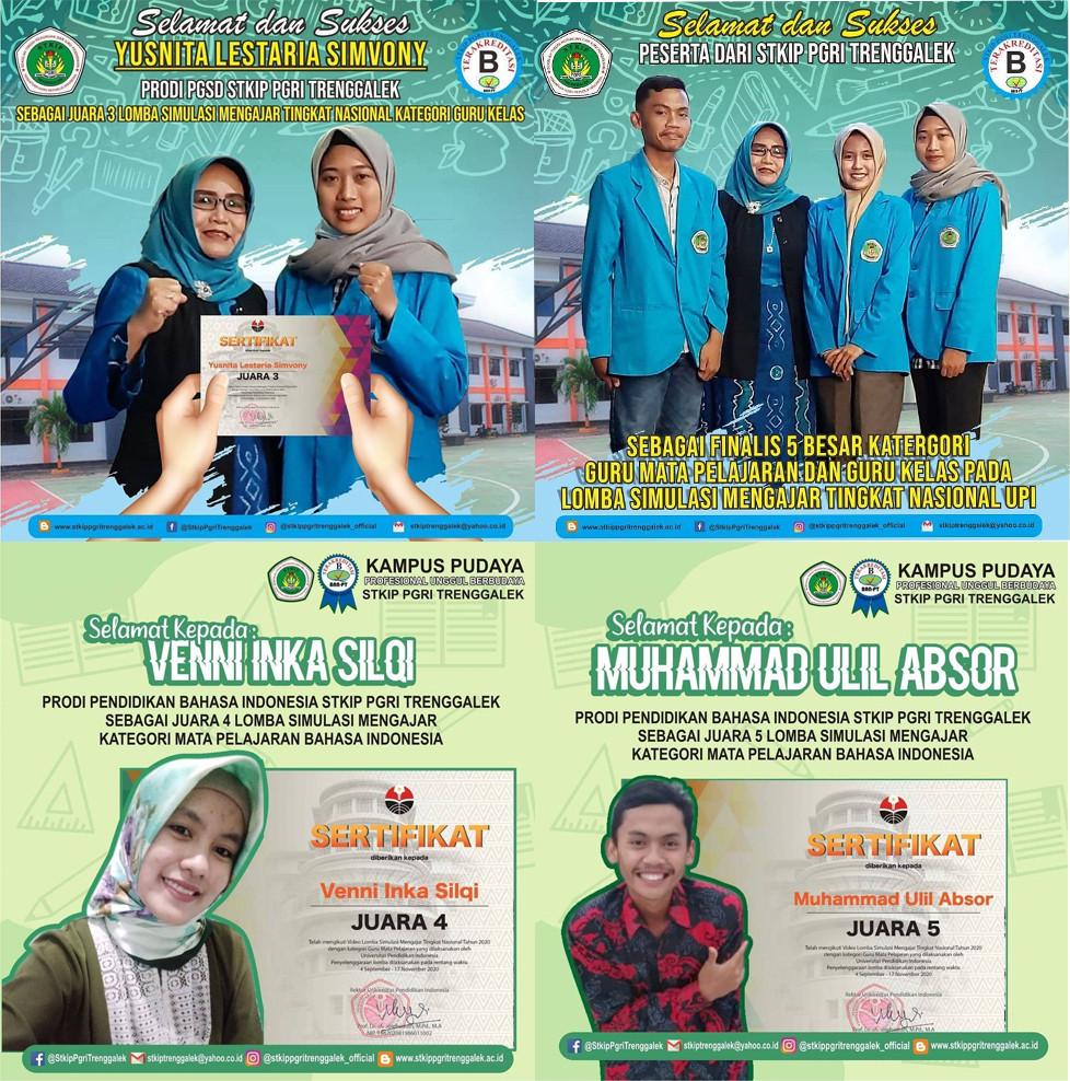 Selamat dan Sukses  Lomba Mengajar STKIP PGRI Trenggalek Tingkat Nasional